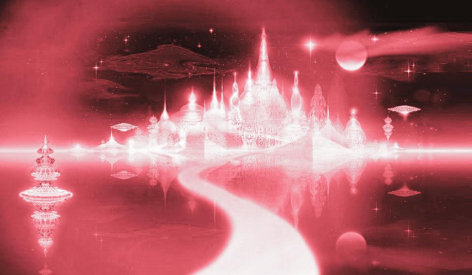 Планета розовых энергий