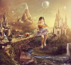 волшебная детская сказака