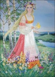 славянская богиня лета