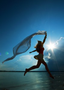 радость счастье крылья