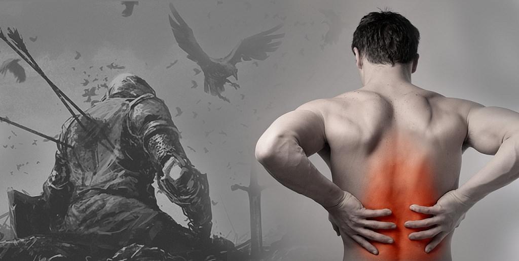 Болит спина? Вас ударили копьём 700 лет назад