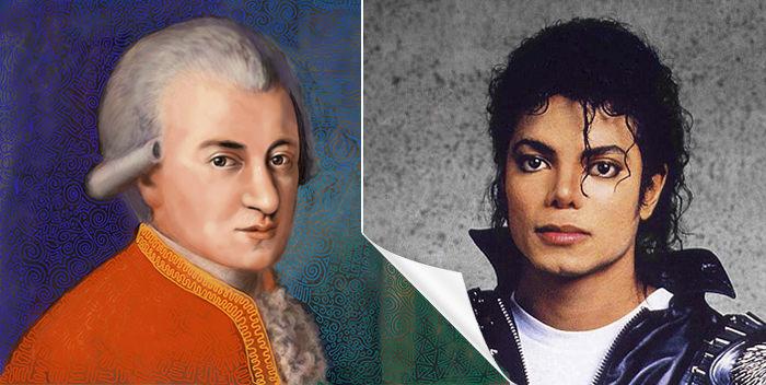 Майкл Джексон – реинкарнация Моцарта?