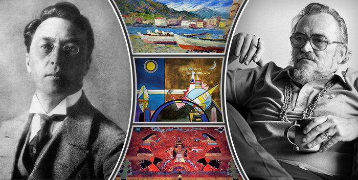 Дух Кандинского в теле американского индейца