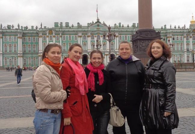 Встреча реинкарнистов с Дарьей Петровой в Питере