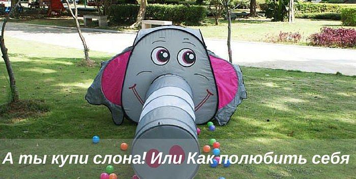 А ты купи слона, или Как полюбить себя