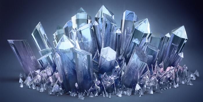 Атлантида кристаллы