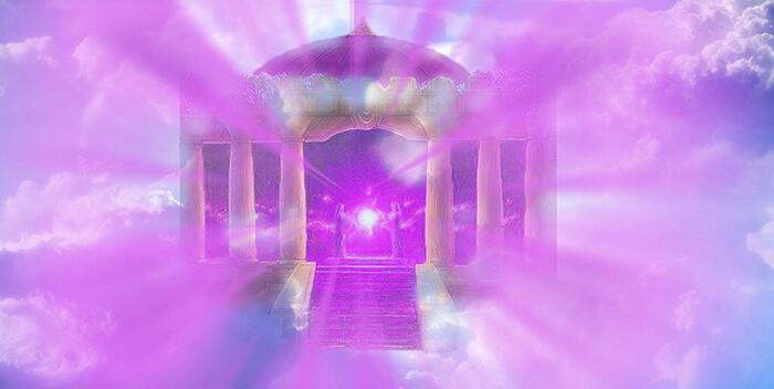 фиолетовый храм