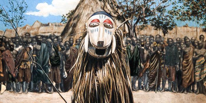 шаман племени