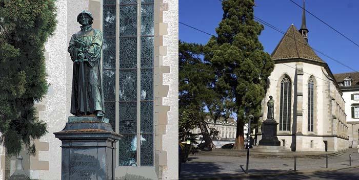 памятник Ульриху Цвигли