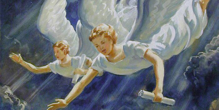 объятия из ангельского мира