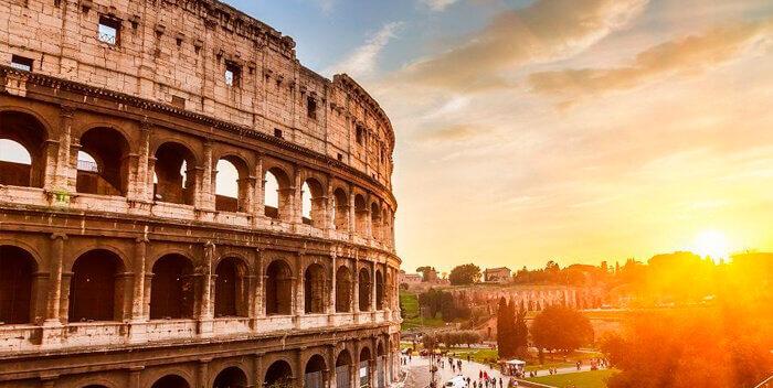 Древний Рим: моя любовь, розы и жемчуг