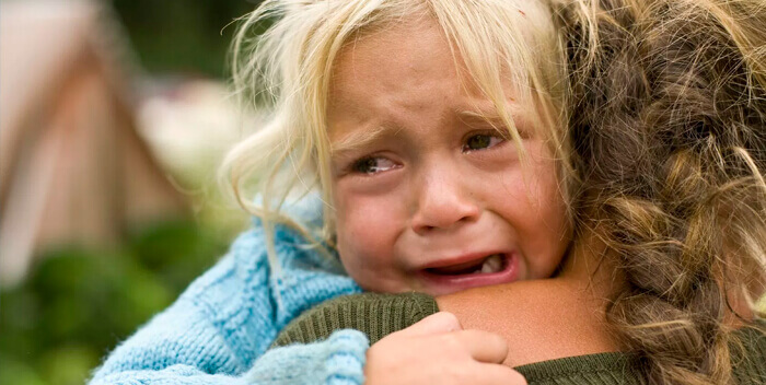 детский плач