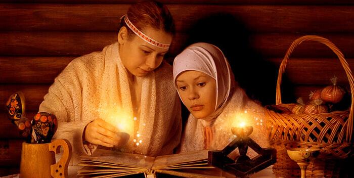 Необычное живое освещение жилья у древних славян - свечун