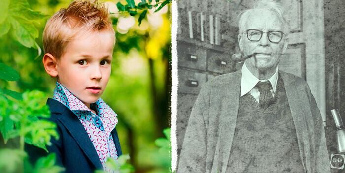Современный случай реинкарнации в Германии.  Ребенок вспоминает, что он был собственным дедушкой