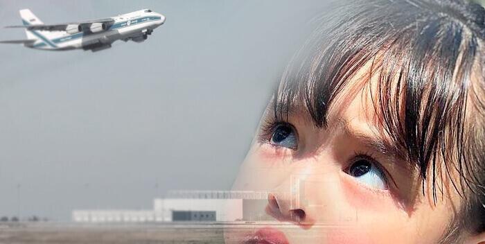 ребенок боится самолетов
