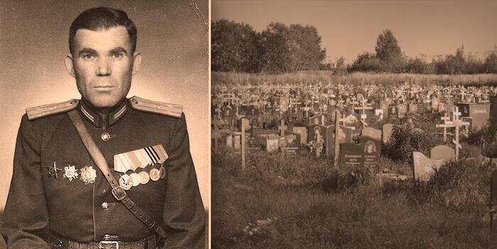 Мальчик плачет у могилы времен Второй мировой войны - себя погибшего в прошлой жизни